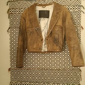 Sardar london 100% genuine  vintage leather jacket